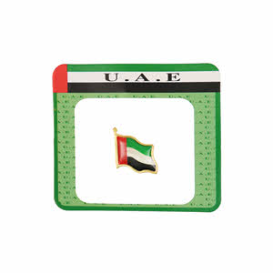 UAE Flying Flag Badge