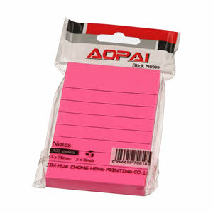 Asd Stick Notes 76Mmx127 Mm 3X5