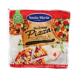Santa Maria Tortilla For Pizza 280gm
