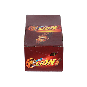 Nestlé Lion Bar Chocolate Crunchy 42gm × 24'S