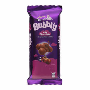 Cadbury Dairy Milk Bubbly Chocolate 87Gm