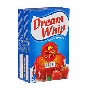 Dream Whip Vanilla 2 x 144Gm Offer