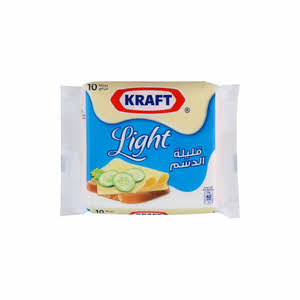 Kraft Single & Slices Light 200Gm