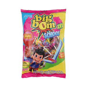 Big Bom Lolly Pop School XXL 48X25gm