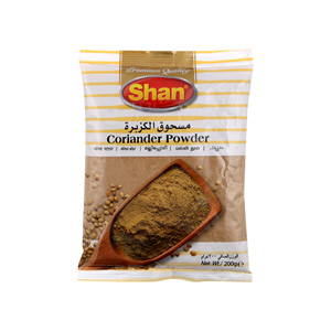 Shan Coriander Powder Spicy Poly 200gm