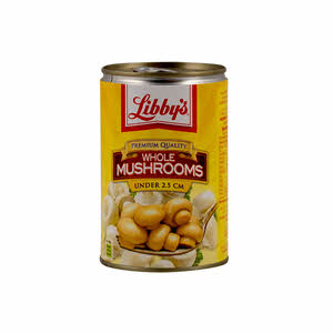 Libby's Whole Mushrooms 400gm