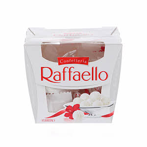 Ferrero Rocher Raffaello White Chocolate 150gm