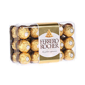 Ferrero Rocher Chocolate 375gm × 30'S