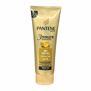 Pantene Pro-V 3 Minute Miracle Anti-Hair Fall Conditioner & Mask 200ml