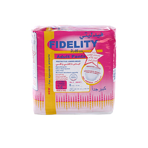 Fidelity Adult Pull On Pants Extra Large 10 Diaper