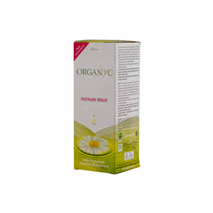 Organyc Feminine Hygiene Organic Cotton Wash 250ml