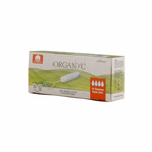 Organyc Cotton Tampons Super 16Tampon