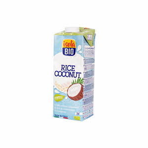Isola Bio Organic Rice Coconut Milk 1Ltr
