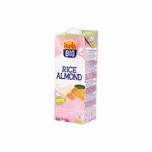 Isola Bio Organic Rice Almond Milk 1Ltr