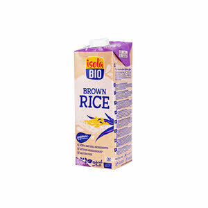 Isola Bio Organic Brown Rice Milk 1Ltr