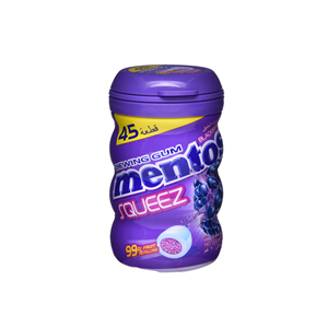 Mentos Gum Squeez Blackberry 56gm
