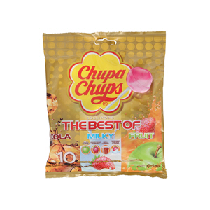 Chupa Chups Assorted Flavor 120gm