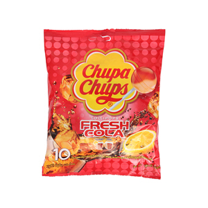 Chupa Chups Cola Mix Lolipop Bag 120gm