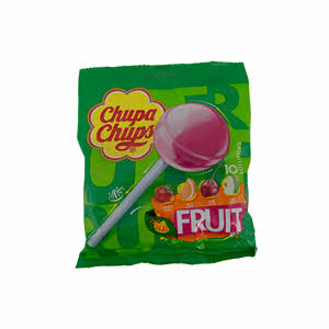 Chupa Chups Fruit Bag 120gm