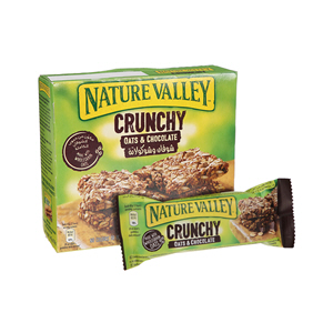 Nature Valley Crunchy Oats & Chocolate Bar 42gm × 12Bars