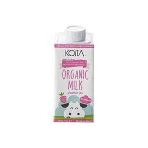 Koita Organic Strawberry Milk 200Ml