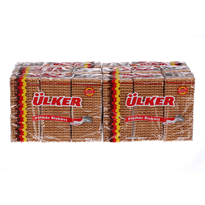 Ulker Twin Petit Beurre Biscuits 450gm × 6'S