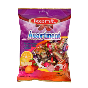 Kent Assorted Candie Bags 375gm