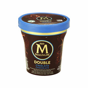 Magnum Double Pint White Cookie 440ml