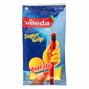 Vileda Gloves Gripper Medium