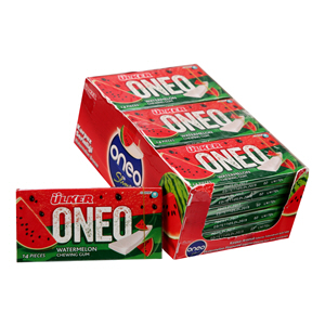 Ulker Oneo Watermelon Chewing Gum 14Pcs