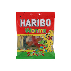 Haribo Worms 80gm