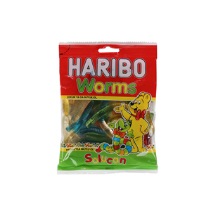 Haribo Worms Jelly  160gm