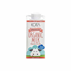 Koita Organic Milk Low Fat 200Ml
