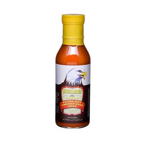 Excellence Extra Hot Chicken Wings Sauce 12Oz