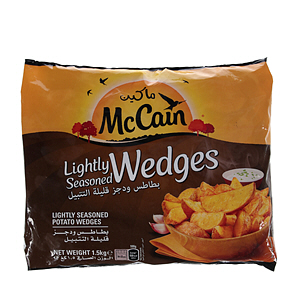 Mc Cain Seasoned Wedges French Fries 1.5Kg