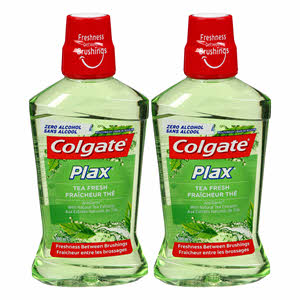 Colgate Plax Mouthwash Fresh Tea 500ml x 2PCS