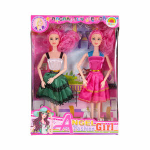 Samari Doll Set 2PCS
