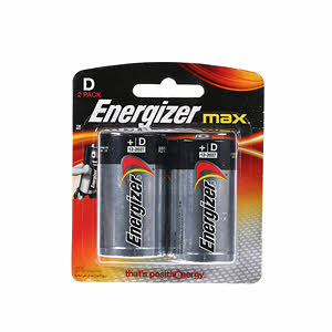 Energizer Battery D E95 Bp2