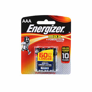 Energizer Power Seal E92 Bp4 Aaa