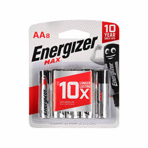 Energizer Power Seal E91 Bp8 Aa