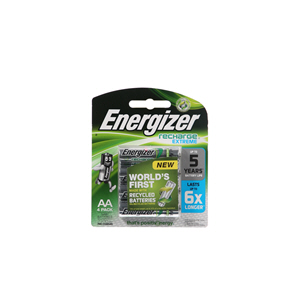 Energizer Recharge Extreme Battery AA 2300Mah
