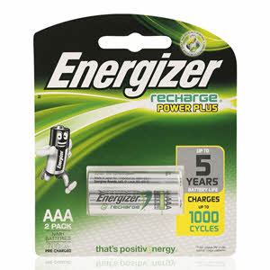 Energizer Recharge Rechargeable  Battery AAA