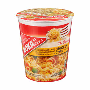 Koka Cup Noodles Chicken & Corn 70gm
