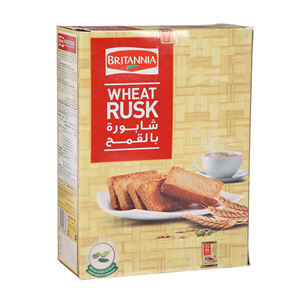 Britannia Wheat Rusk 335Gm