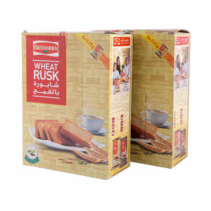 Britannia Wheat Rusk Box Pack 670G