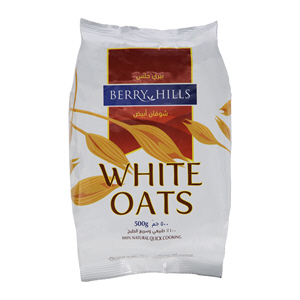 Berry Hills White Oats Refill 500gm