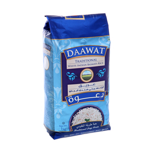 Daawat Basmati Rice Extra Traditional 1Kg