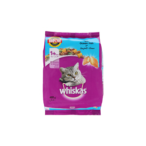 Whiskas Ocean with Fish 480gm