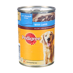 Pedigree Chum Lamb 400gm