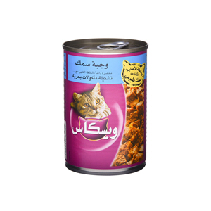 Whiskas Fish Menus Seafood Selection 400gm